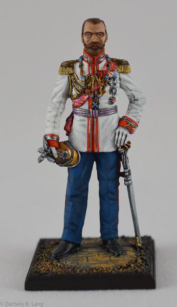 Lead Army 5810 Emperor Nicholas II - 1912 1