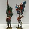 British 51st Light Infantry Reg  Ensign Standard Bearers-First Legion-NAP472 and 473