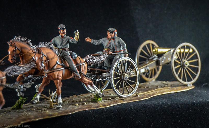 Confederate Horse Artillery Unit 3