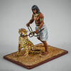 Sherden Warrior Holding Leopard-St  Petersburg Studios - St  Petersburg Collection-3333