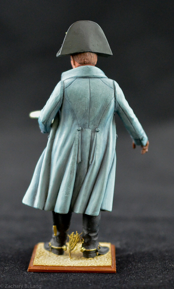 N812 90mm Napoleon in Overcoat Holding Map 2