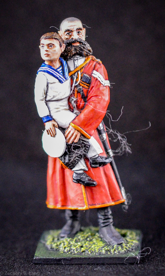 Cossak Guard Carrying Crown Prince Alexei