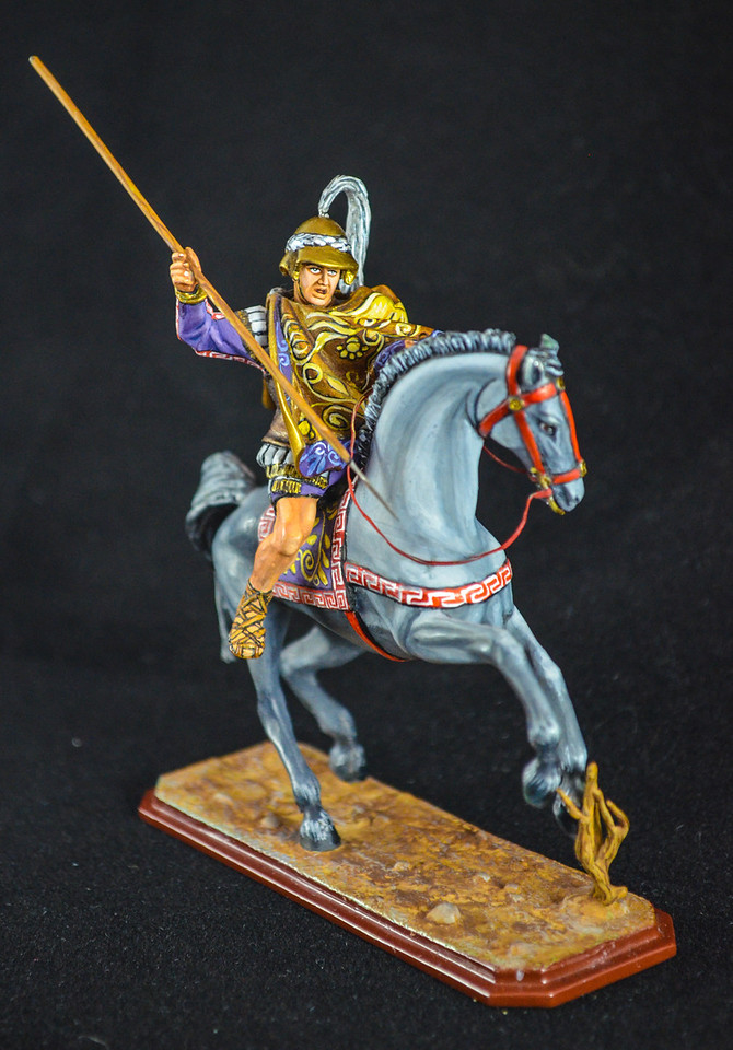 G249 Officer Thessalian Cavalry w- Spear