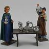 The Silver Seller - Rose Minatures John Eden