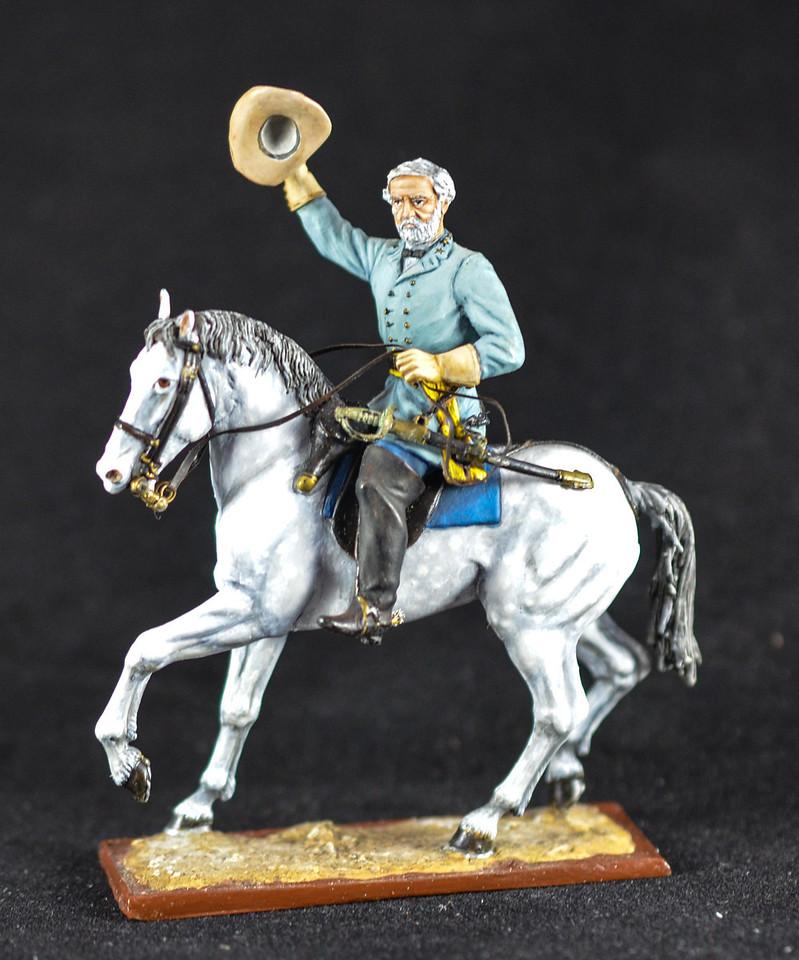 Gen Robert E  Lee on Traveler 2