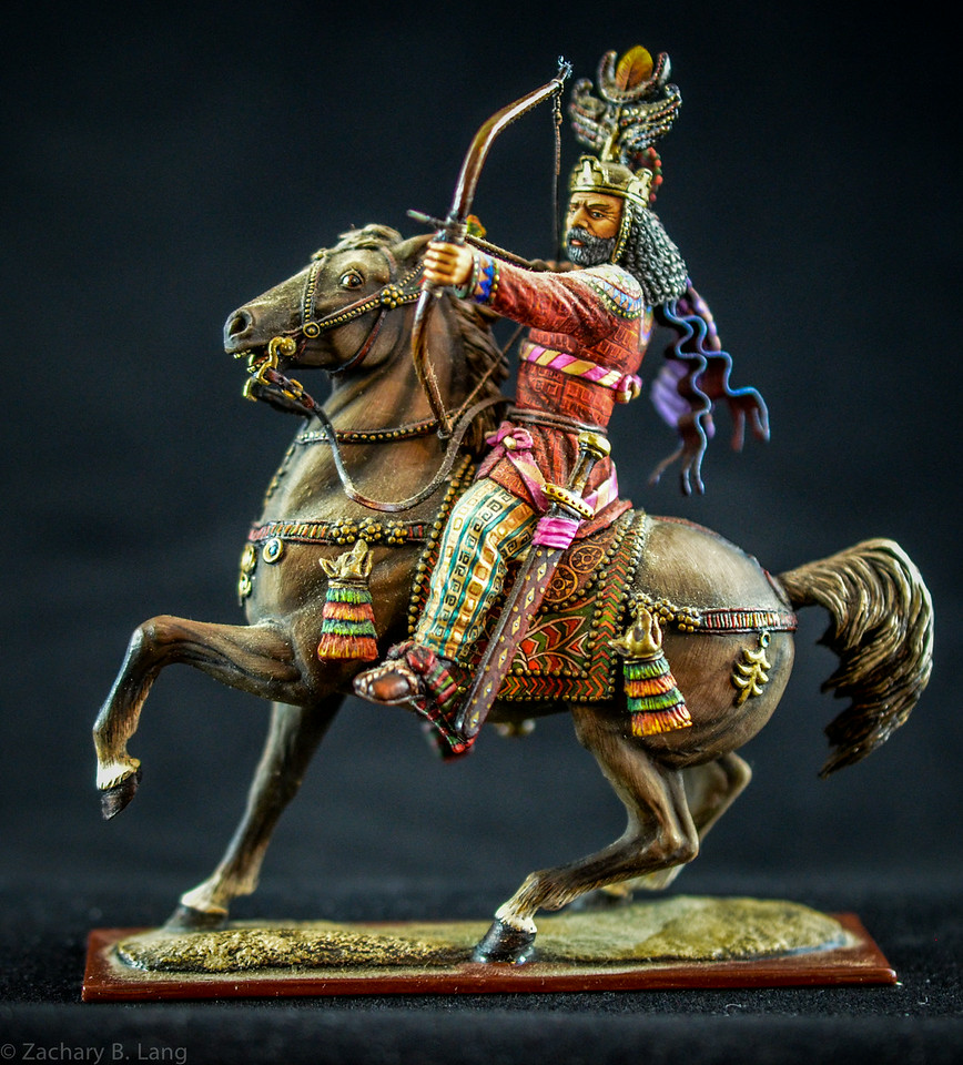 Persian Archer Mounted 1