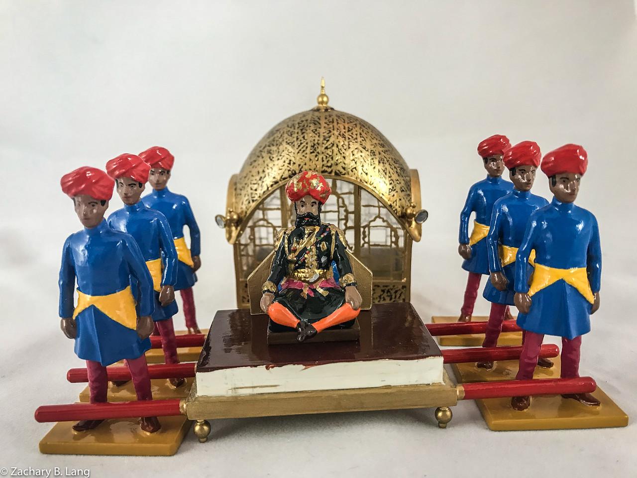 Palaquin of the Maharajah of Jodhpur  img1