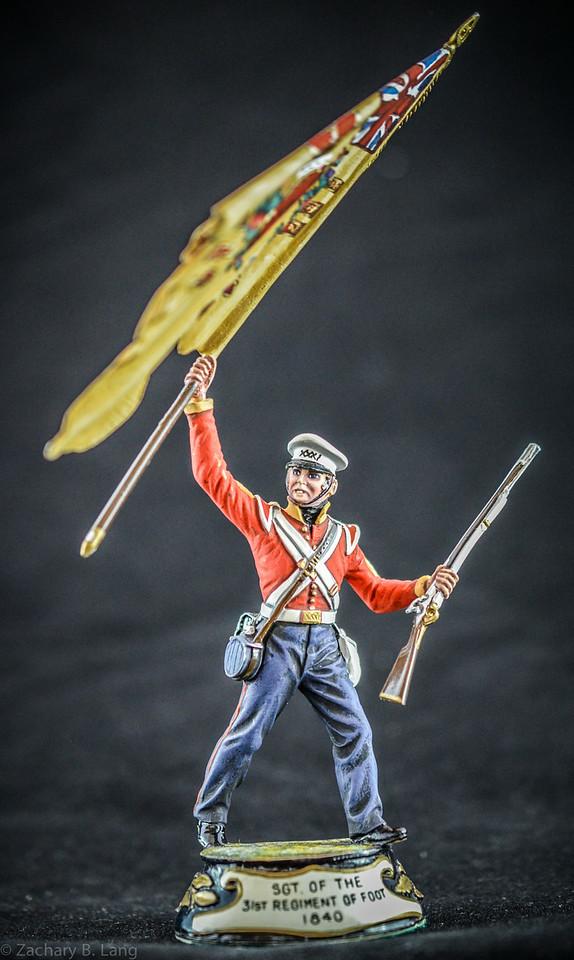 Stadden Sgt of the 31st Regiment of Foot 1840 3