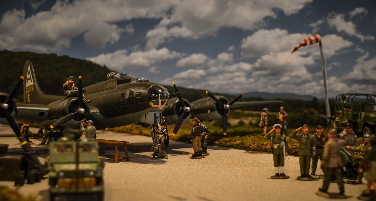 Bassingbourn Airfield K&C B-17  6
