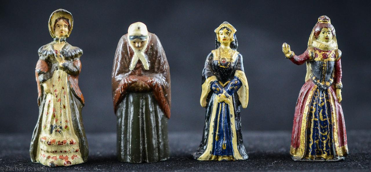 Misc-Becky Sharp-Old Woman-Wife of Henry VIII-Elizabeth I  1