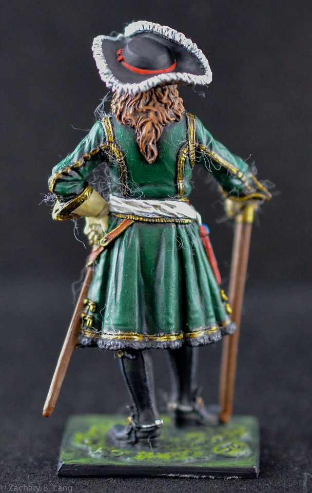Staff officer of the Preobrazhensky Regiment, 1698-1700 2