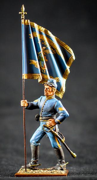 Union Cavalryman w- Flag 1
