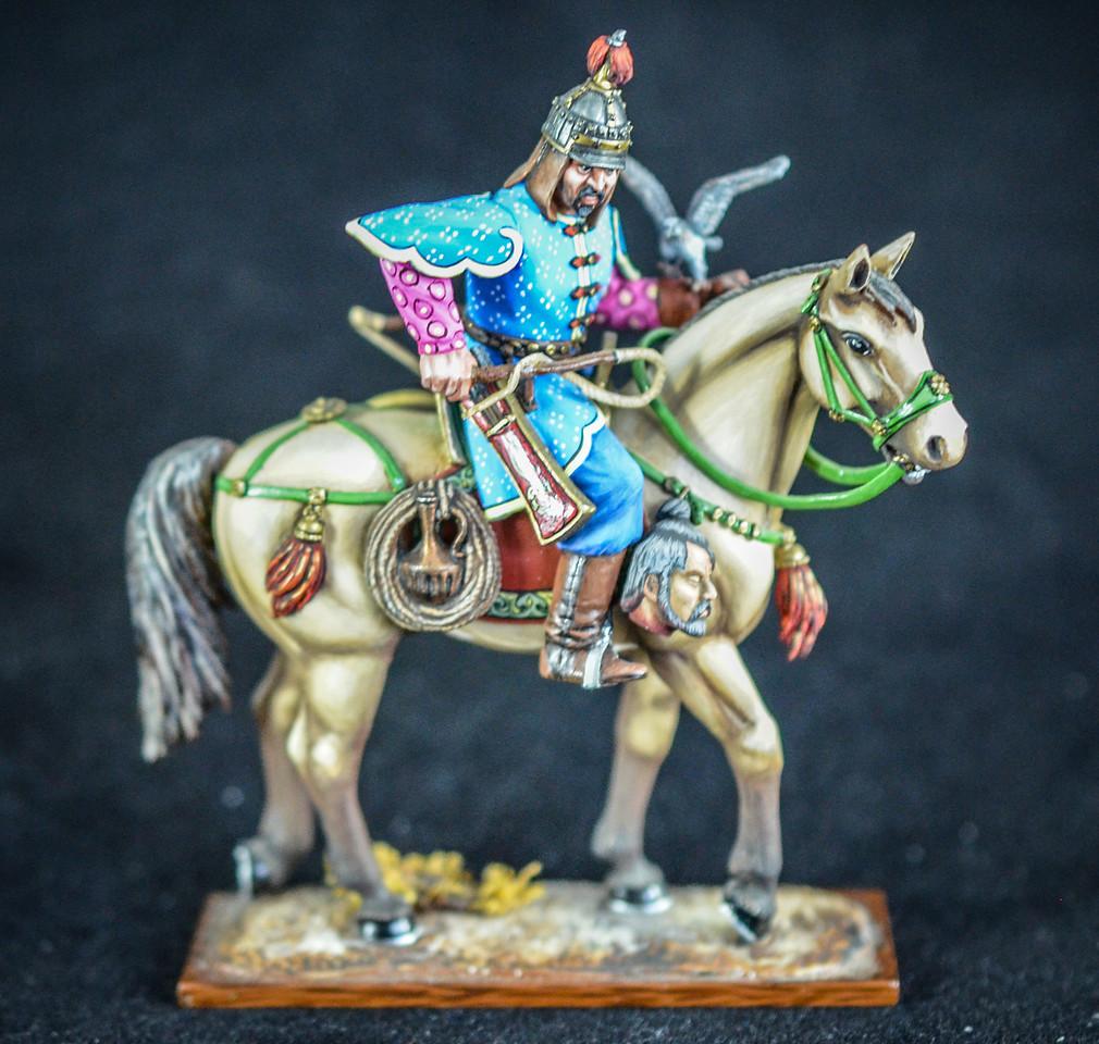 Mongol General Bayan w- Hawk 1