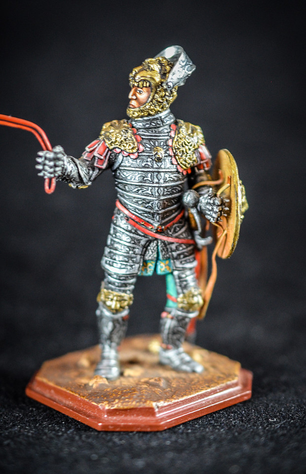 Duke Ferdinand, Austrian Regent 16th Cent w- Knight in Armor 3