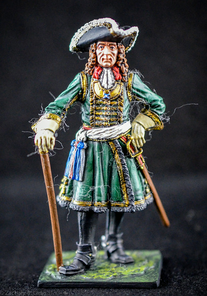 Staff officer of the Preobrazhensky Regiment, 1698-1700 1