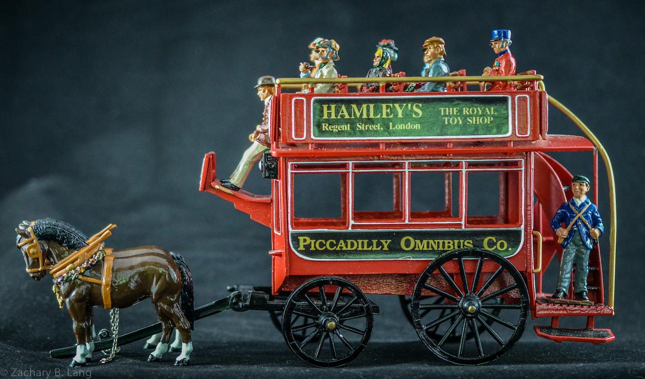 Horsedrawn London Omnibus 1