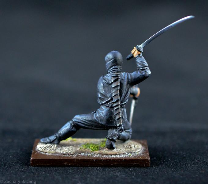 MJ4 Ninja Warrior w- Sword and Dagger 2