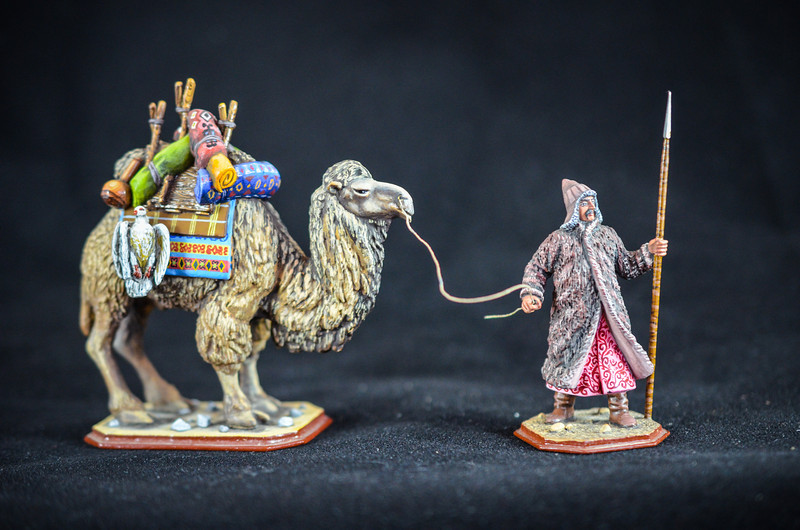 Mongol Warrior w- Supply Camel 1
