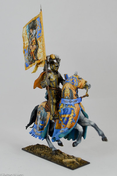 Parade Knight with Flag-Sineus Casting - Painted by Vitaly Puzenko-CF05 3 img3