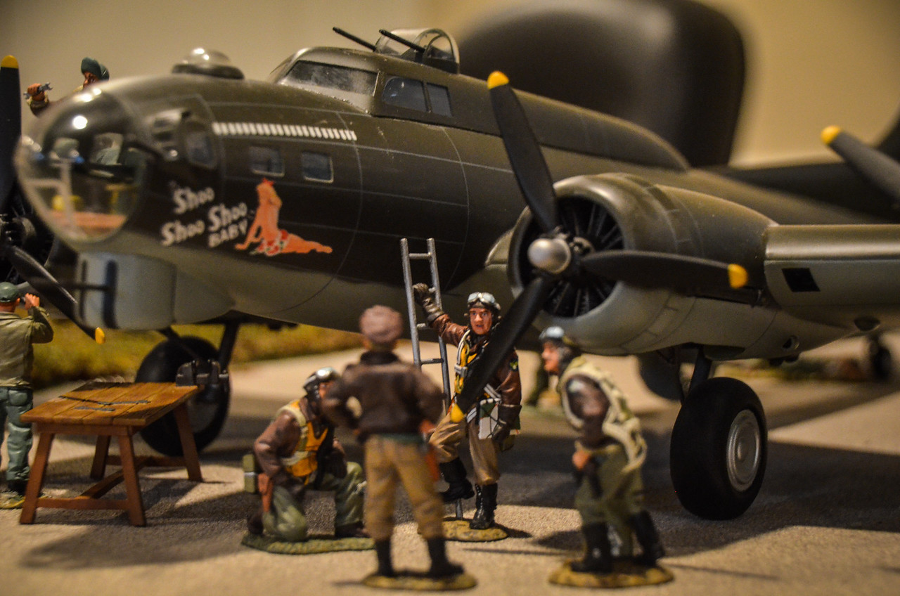 Bassingbourn Airfield K&C B-17  10