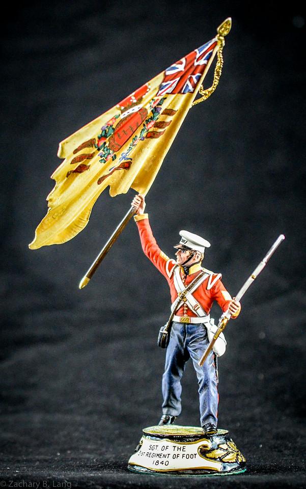 Stadden Sgt of the 31st Regiment of Foot 1840 1