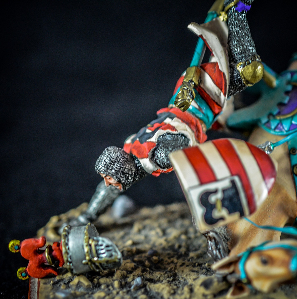 Knight on Falling Horse - Guillaume de Livron 2