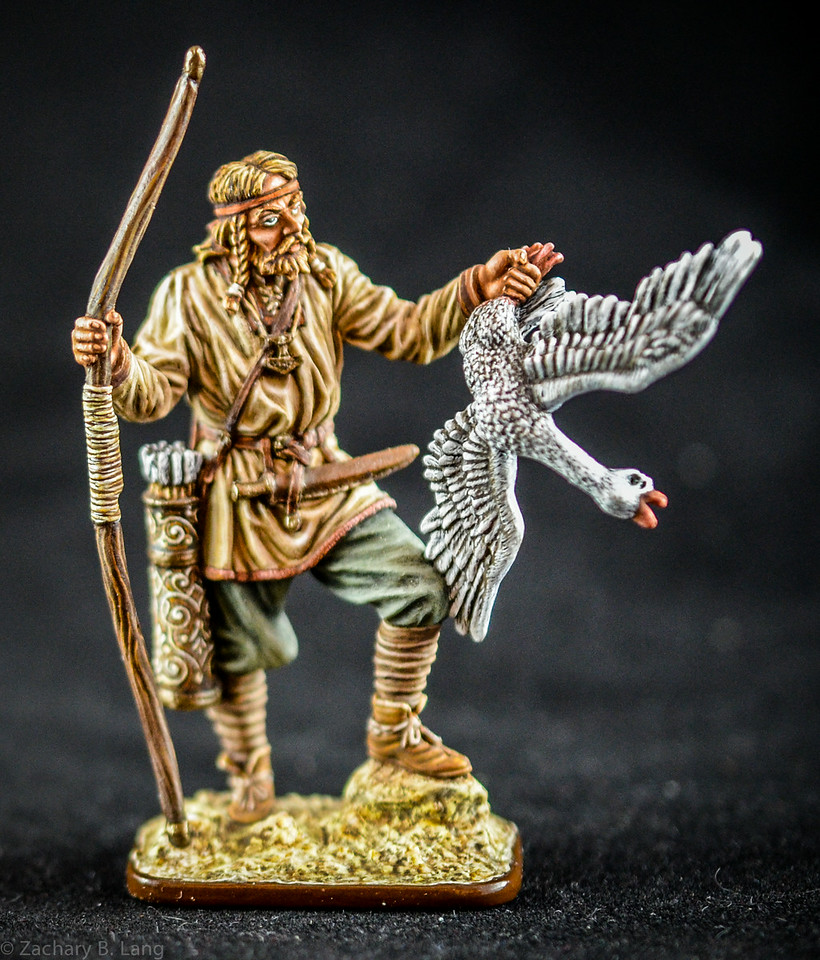 Viking Archer w- Goose 1