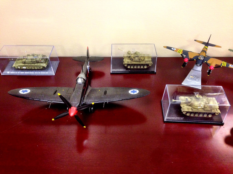 tanks and spitfire