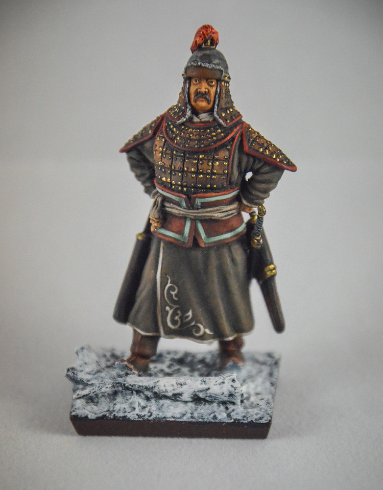 MN 7 Mongol Noble in Battle Armor 1