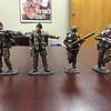 Open Fire Figures Royal Marine Commandos Prototypes