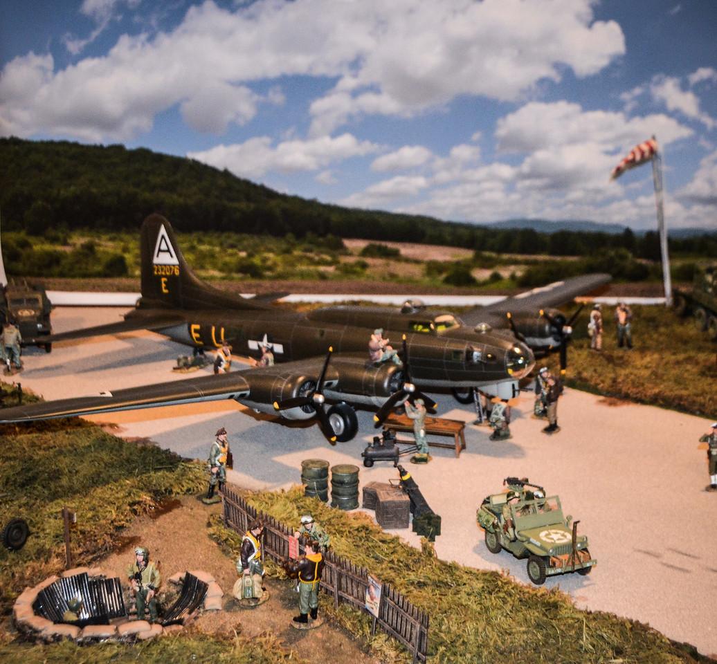 Bassingbourn Airfield K&C B-17  1