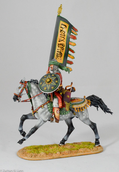 Mounted Mamluk Standard Bearer-First Legion-CRU100 img2