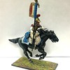 French 2nd Carabiniers Standard Bearer Charging-First Legion-NAP0073