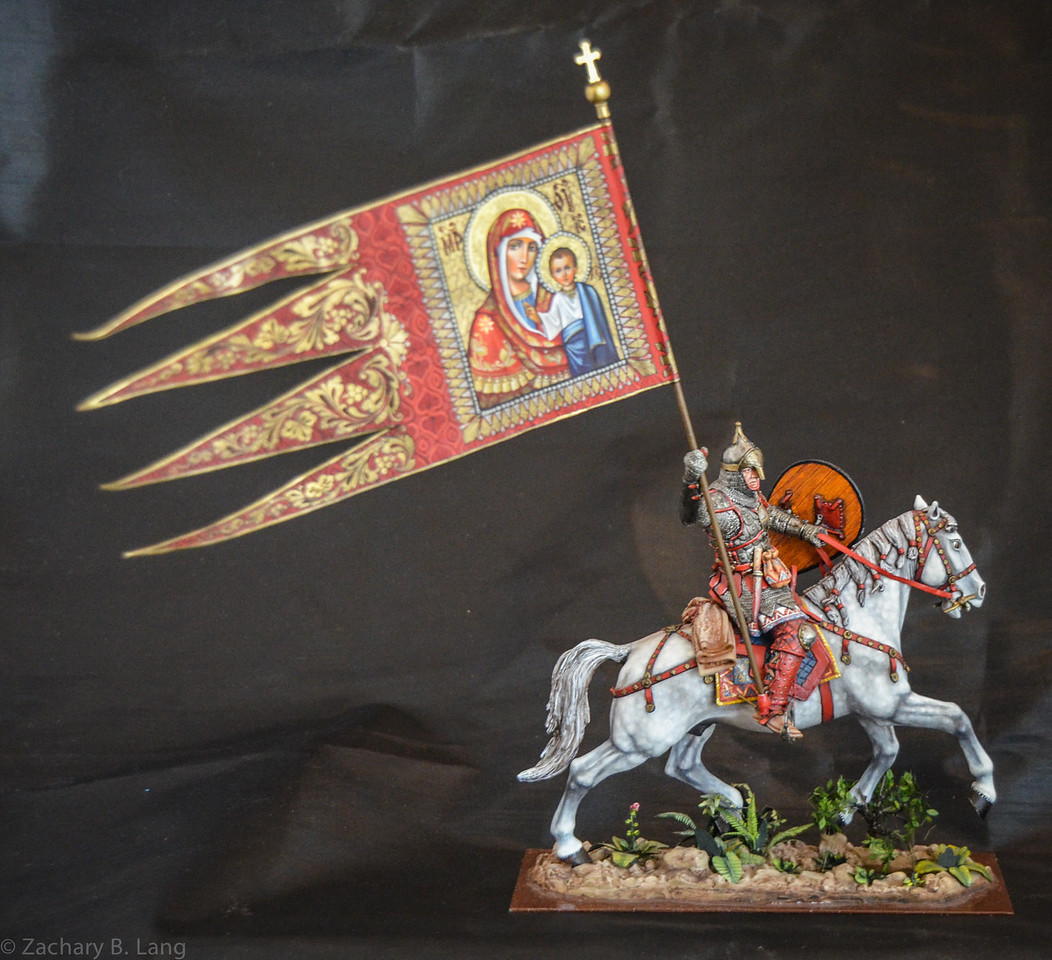 Russian Noble w-Religious Flag 90mm 1