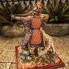 Khutulun, Mongol Princess Warrior w-Snow Leopard-AeroArt-St Petersburg Collection-6414 img1