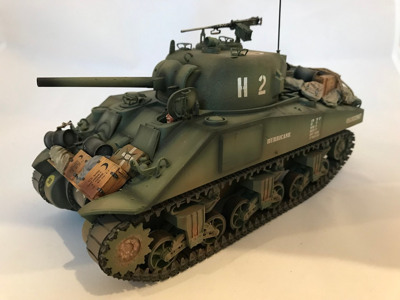 US M4 75mm Sherman Tank Hurricane-First Legion-NOR048 img2