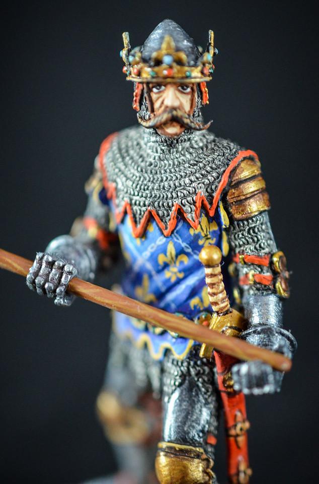 French King Jean II w Axe 3