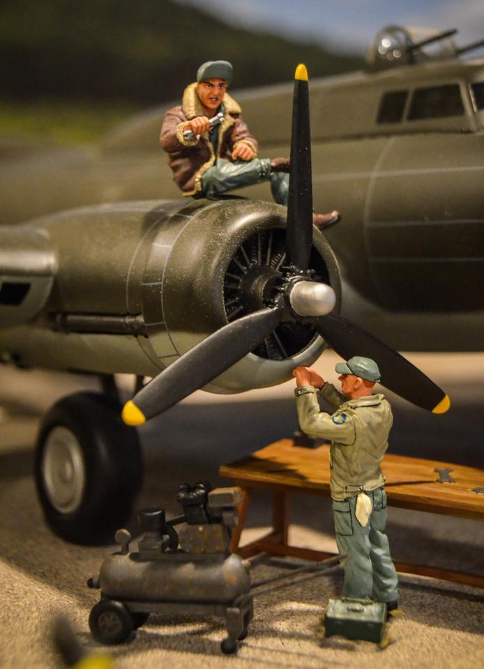 Bassingbourn Airfield K&C B-17  14