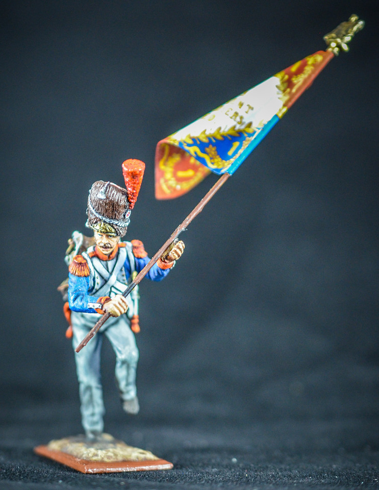 Imperial Guard Charging w- Flag 1
