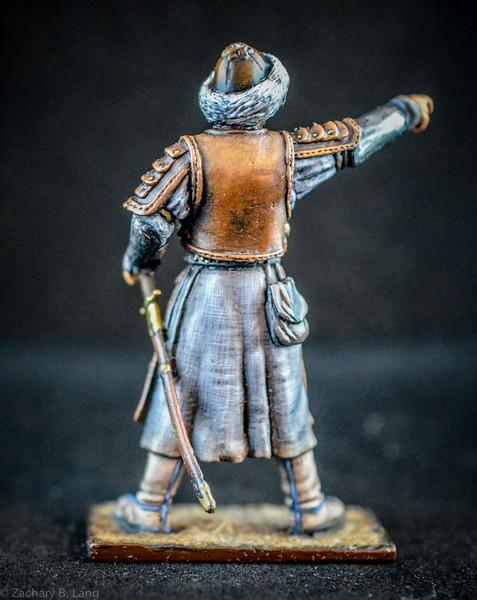 6356-s  Mongol Officer - Prototype 2