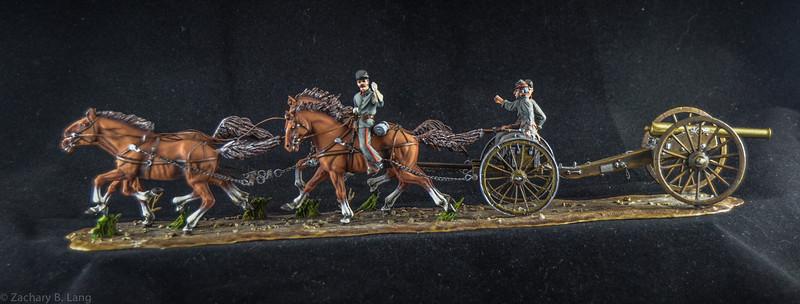 Confederate Horse Artillery Unit 1