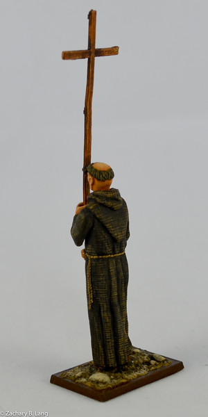 Monk Peter the Hermit with Wooden Cross-AeroArt-St Petersburg Collection-3963 2 img2