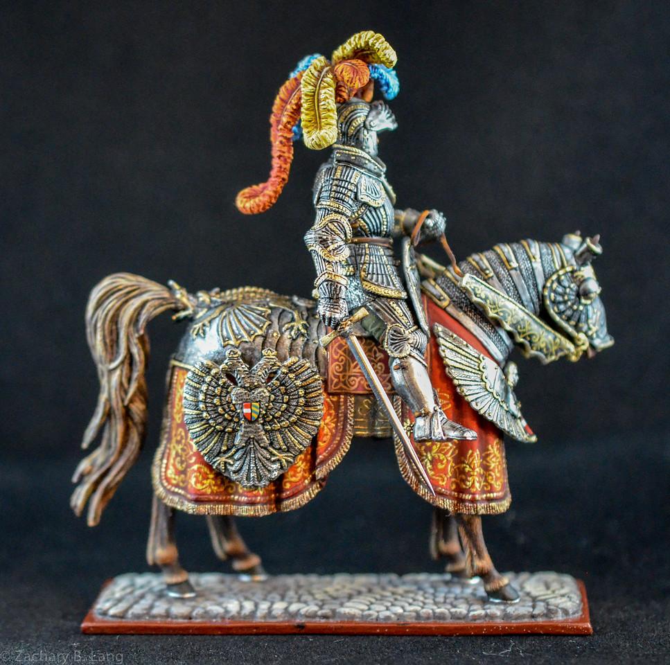 6275 Holy Roman Emperor Frederick III in Ceremonial Armor 2