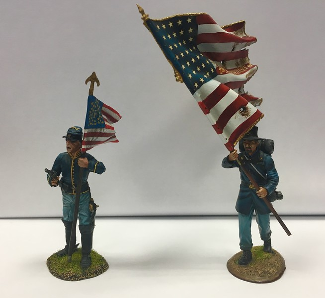 2nd Wisconsin Volunteers and Union Cavalry Standard Bearers - First Legion