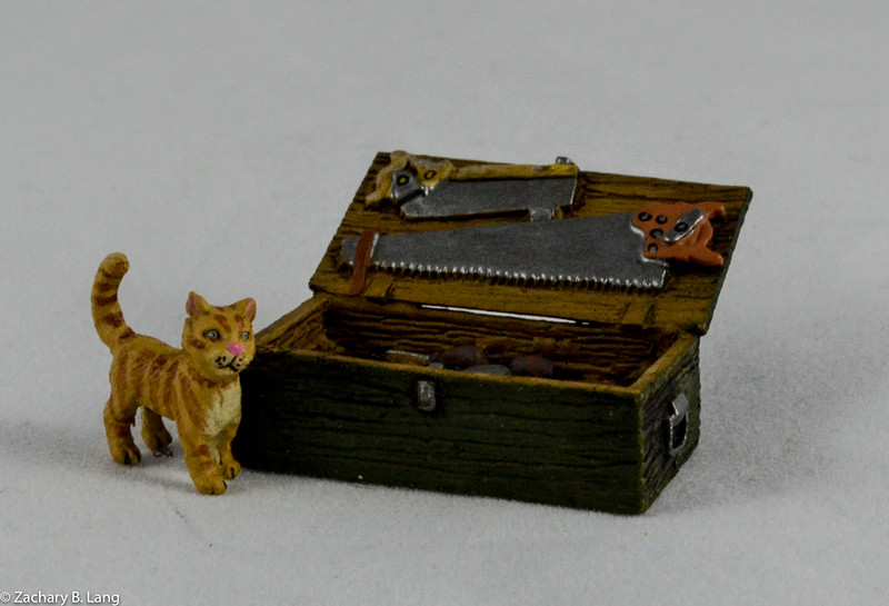 Cat and Tools from Thomas GunnLUFT010