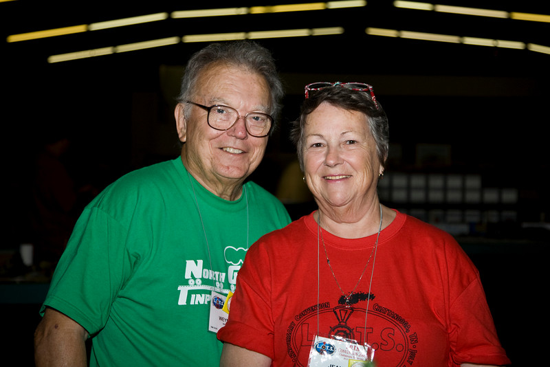 Weyman and Jean at the 2009 LOTS Convention, Chattanooga, TN.