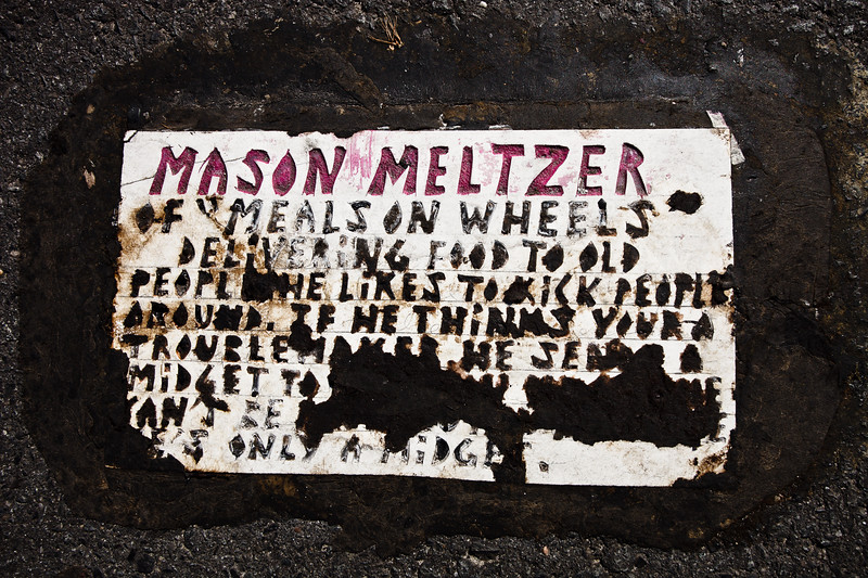 In the fall of 2013, tiles attacking a Meals on Wheels social worker began appearing in South Jersey along the shore.