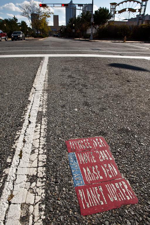 Atlantic City Toynbee tile.