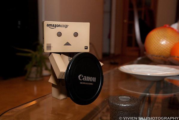 Danbo likes Canon!