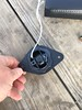 """Aftermarket tweeter mounted to tweeter adapter from   <a href=""""http://car-speaker-adapters.com/items.php?id=SAK009""""> Car-Speaker-Adapters.com</a>"""